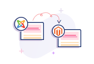 Convert & MIgrate Joomla To Magento Website