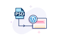 Convert Photoshop Document To Wordpress
