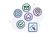 Custom  Line Icons Designing
