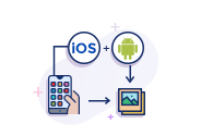 Gallery Based Android & iOS Application Development