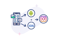 Instagram Based iOS & Android Application Development