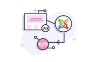 Joomla 20 Pages Ecommerce Website Development