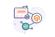 Magento 30 Page Website With Plugin/Extension.