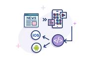 News Update Cross-Platform Android & iOS Application Development