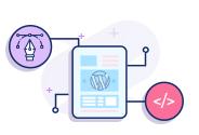 Interactive WordPress Landing Page