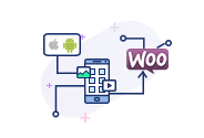 Create hybrid mobile app for woocoomerce store